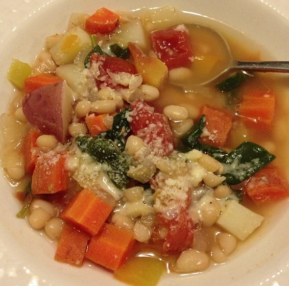 Adapted recipe from Peru Delights http://perudelights.com/chickpea-and-chard-stew-for-lent/