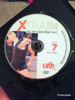 Cathe XTrain DVD