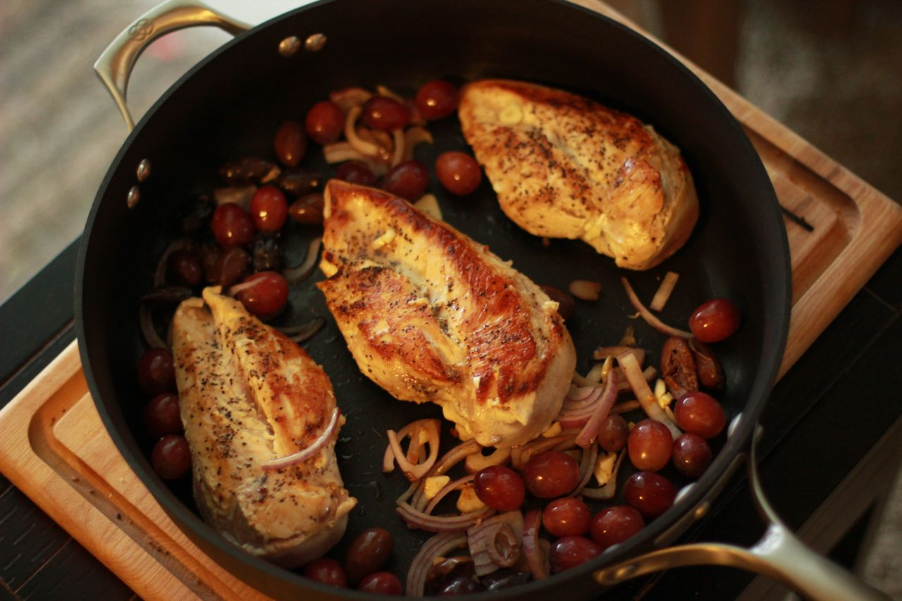 Roasted Chicken With Grapes And Olives Parkesdale Farm Market Blog