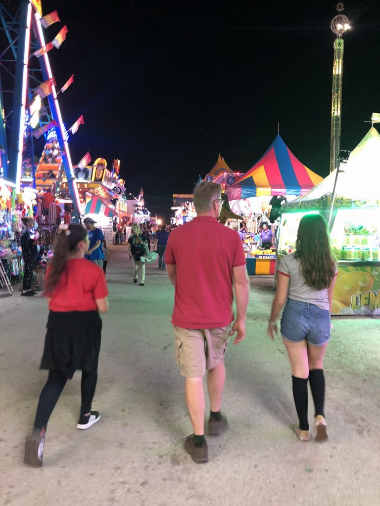 Florida Strawberry festival midway