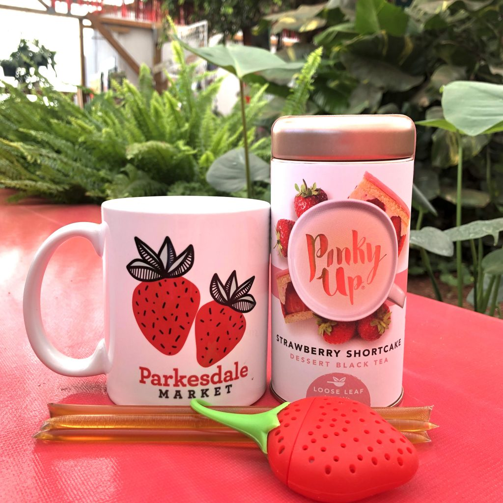 Parkesdale Mug, Pinkyup tea gift set